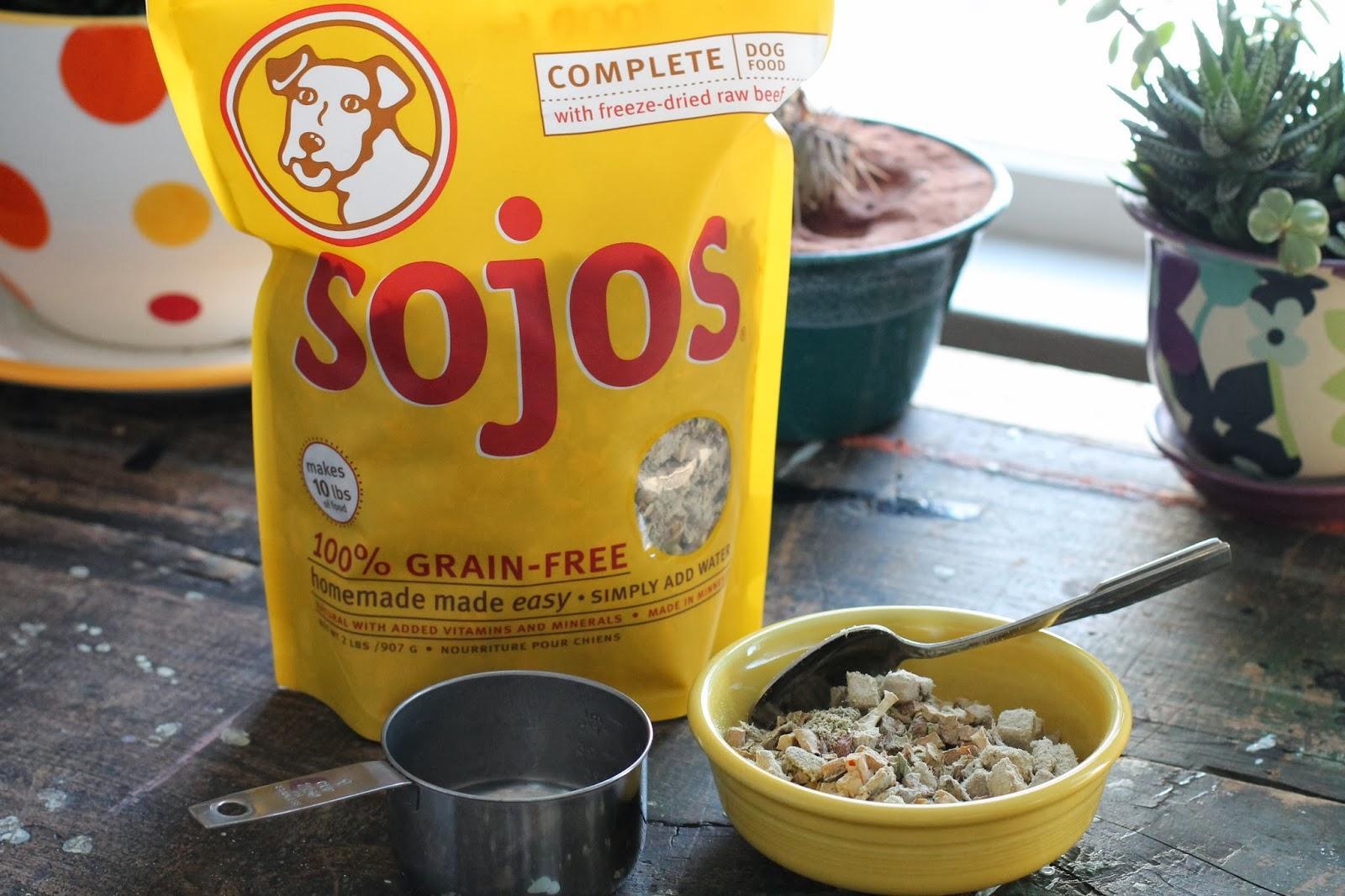 Sojos Dog Food Mix