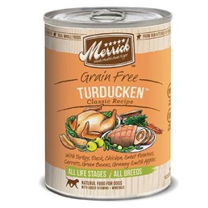 Merrick canned dog food
