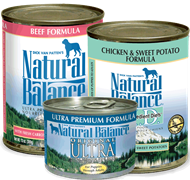 Natural Balance Canned Dog Food