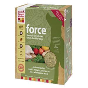 Dog Food Comparison - Honest Kitchen Force formula